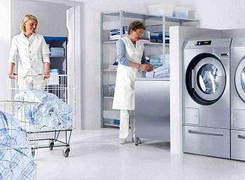 Принцип работы машины химчистки